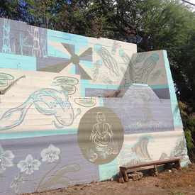 Photo of Wall Art in Honouliuli.