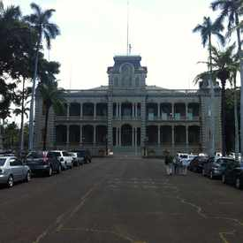 Photo of Iolani Palace in Downtown