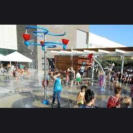 Photo of Conestoga Recreation SplashPad in South Beaverton
