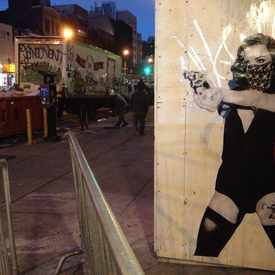Photo of Wheatpaste On Bowery  in Lower East Side