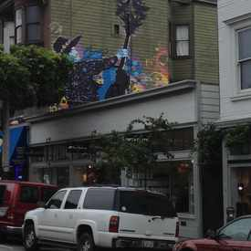 Photo of Mural Above 1524 Haight in Haight-Ashbury