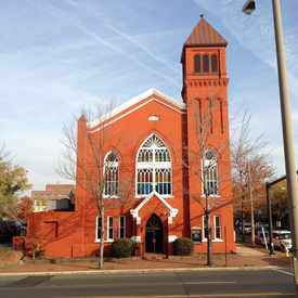 Photo of Shiloh Baptist Church in Southwest Quadrant