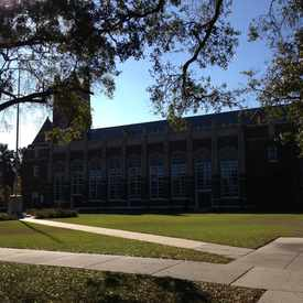 Photo of Hillsborough High School in South Seminole Heights