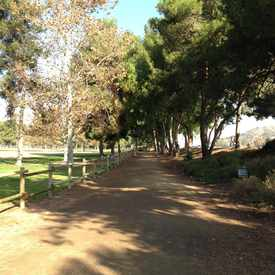 Photo of Horse trail at Yorba Regional Park in Northeast Anaheim