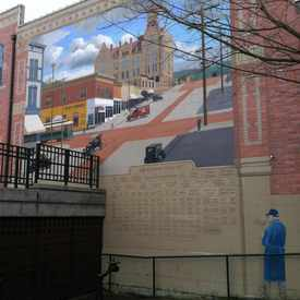 Photo of Mural At The Village Green  in Fairhaven
