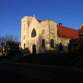 Photo of St James Catholic Church in South Hyde Park