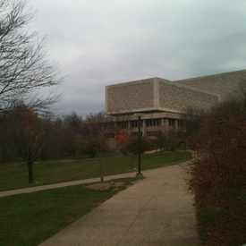 Photo of Herman Wells Library