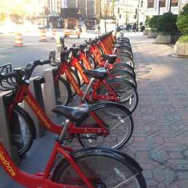 Photo of Capital Bikeshare: 21st & M St NW in Downtown