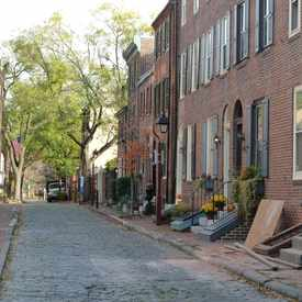 Photo of Cypress Street (500 block) in Center City East