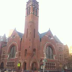 Photo of Salem United Methodist Church in Harlem