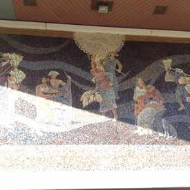 Photo of Mosaic on Chase bank entrance. in West Portal