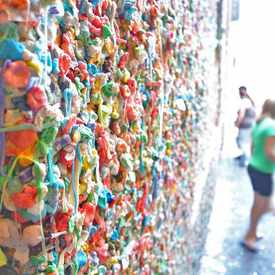 Photo of Pike Place Market Gum Wall in Downtown