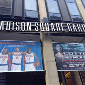 Photo of Madison Square Garden in Garment District