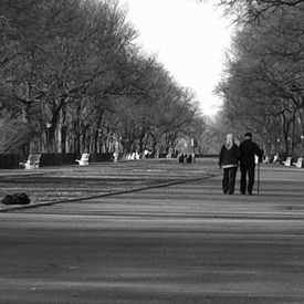 Photo of Riverside Park Promenade, New York, NY in Morningside Heights