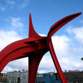 Photo of Olympic Sculpture Park in Belltown