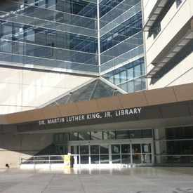 Photo of Dr. Martin Luther King, Jr. Library in Downtown