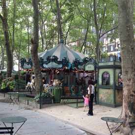 Photo of Bryant Park in Garment District