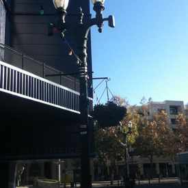 Photo of Street light Lamppost On San Antonio in Downtown