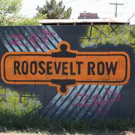 Photo of Roosevelt Row in Central City