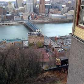 Photo of Monongahela incline in Mount Washington