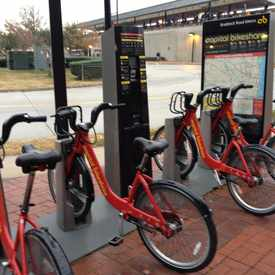 Photo of Capital Bikeshare in Braddock Road Metro