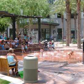 Photo of Kierland Commons Splashpad in Paradise Valley