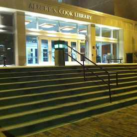 Photo of Albert S Cook Library