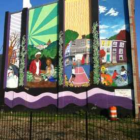 Photo of Mural On Hunter Street in Barclay