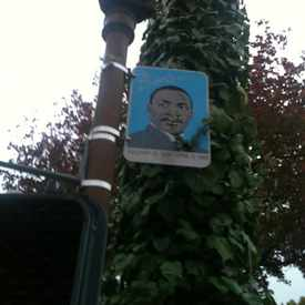 Photo of Martin Luther King Signboad in Bushrod
