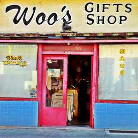 Photo of Woos Gift Shop in Chinatown