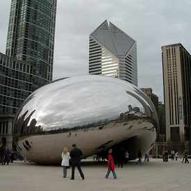 Photo of Cloud Gate in The Loop