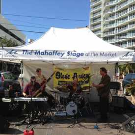 Photo of The Mahaffey Stage At The Market in Downtown