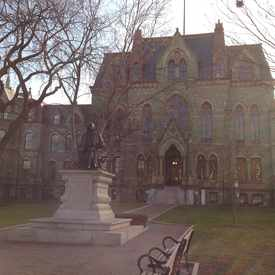 Photo of THE UNIVERSITY OF PENNSYLVANIA in University City