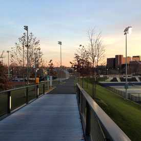 Photo of Penn Park in University City