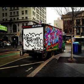 Photo of Union Square Streetart in Flatiron District