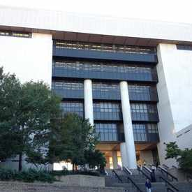 Photo of Albert B. Alkek Library