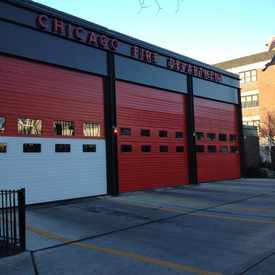 Photo of Chicago Fire Department in Sheridan Park