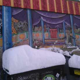 Photo of Circus Mural in Whittier