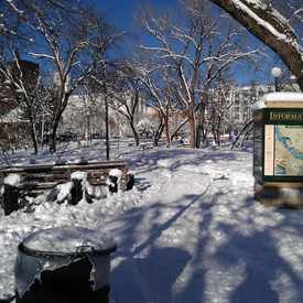 Photo of Father Hennepin Park in Marcy Holmes