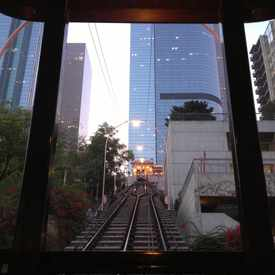 Photo of Angels Flight in Downtown