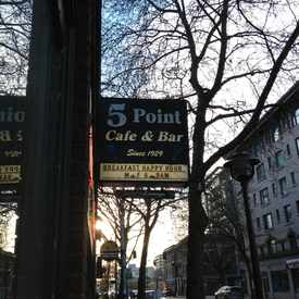 Photo of The 5 Point Cafe in Belltown