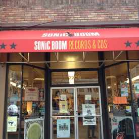 Photo of Sonic Boom Records in Ballard