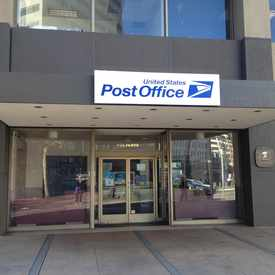 Photo of USPS Fox Plaza Station in Tenderloin