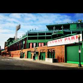 Photo of Fenway Park in Kenmore