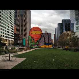 Photo of Dewey Square Park in Downtown