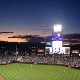 Photo of Coors Field in Union Station