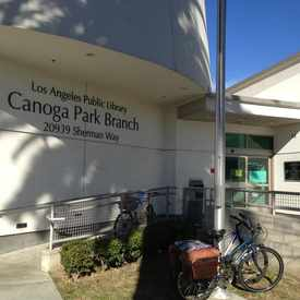 Photo of Canoga Park Branch Library in Canoga Park