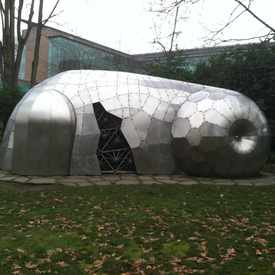 Photo of Steel Sculpture in University District
