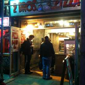 Photo of 2 Bros Pizza in East Village
