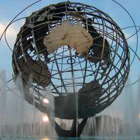 Photo of Unisphere  in Flushing Meadows Corona Park, New York